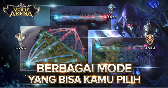 Mobile Arena Map - Perbedaan Mobile Arena dengan Mobile Legends