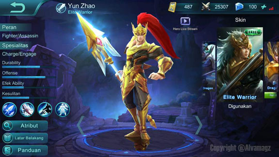6 Hero Mobile Legends Bang Bang Terbaik