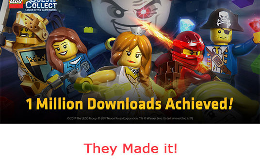 LEGO Quest & Collect Capai 1 Juta Download!