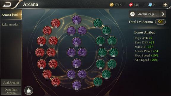 Arcana & Emblem - Perbedaan Arena of Valor dengan Mobile Legends