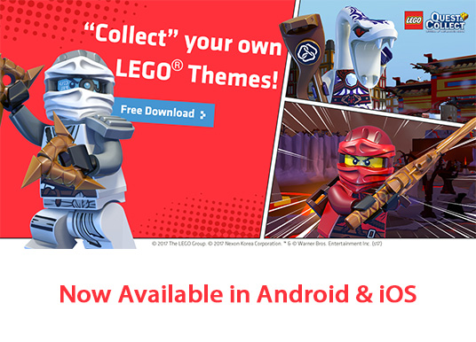 Game LEGO Quest & Collect Hadir di Korea, Asia, dan Indonesia