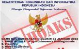 PUBG & Mobile Legend diBlokir Kementrian Kominfo? HOAX!